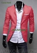 Mens Red Sport Coat