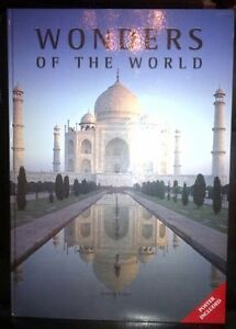 """Wonders of the World 16.5"""" x 23"""" Huge! 160pgs 2006 Cond.NEW"""