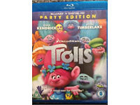 DreamWorks Trolls - blue-ray Disc