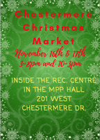 Looking for handmade vendors for a Chestermere Christmas market