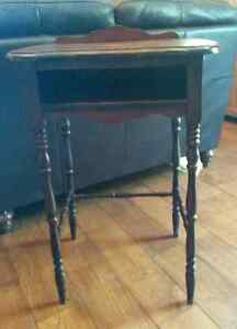 Antique phone table or side table