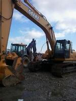 Hydraulic Excavators & Loaders