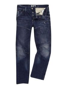 BNWT G Star Raw Skiff 5620 3D Tapered Jeans, W34 L30 RRP £120
