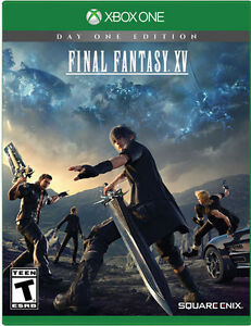 wanted Final Fantasy XV