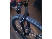 Travel: 100mm marzocchi dirt jam pro swap sell in mint con