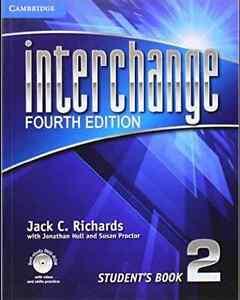 """Livre """"Interchange 4 Edition"""" Student's Book 2 avec Cd Bon État!"""