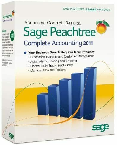 Sage Peachtree Complete Accounting 2011