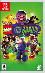 Unopened NEW Lego DC Super Villains for Switch