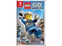 WANTED: Lego City Nintendo Switch