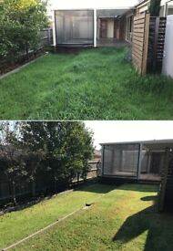 One Off garden tidy up -Gardening services- Lawn mowing - Grass cutting- Local gardener- Hedge