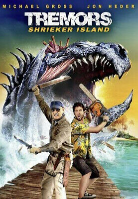 Tremors: Shrieker Island (2020)- BRAND NEW FREE SHIPPING WITH TRACKING