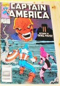 Comic Captain America - Return to Skull House / Bande Dessinée