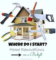 NEED A NEW LOOK? Home renovation & repair