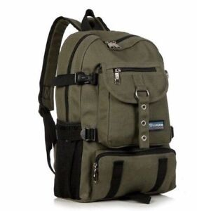 Great Quality - Canvas Backpack - Green