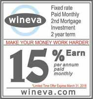 Earn 15% per annum  paid monthly  Mortgage Secured  2 year term