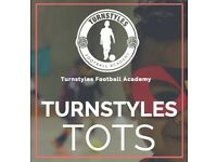 TURNSTYLES TOTS CLASSES 18 MONTHS – 4 YEARS OLD IN ENFIELD