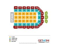 2 x seated TAKE THAT tickets Newcastle 9/5/17