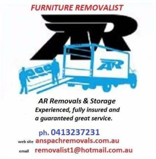 AR Removals & Storage
