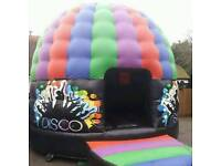 Bouncy castle hire inflatable hire Sumo suits adult disco dome ball pool