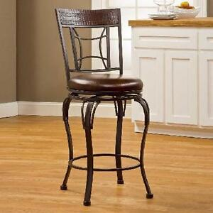 NEW PORTLAND SWIVEL COUNTER STOOL HOME - KITCHEN - BAR - DECOR 100498372