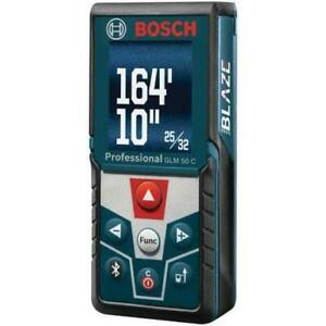BOSCH -165ft laser Measure Tape with Bluetooth and Full Colour