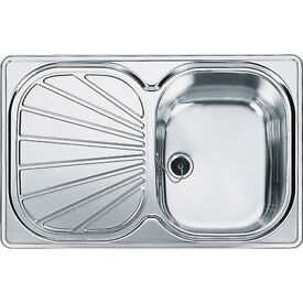 Franke Erica EUX611 78 Stainless Steel Kitchen Sink BRAND NEW