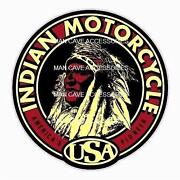 Vintage Motorcycle Decal