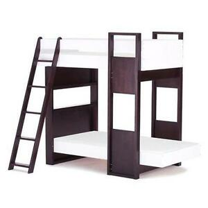 LORD SELKIRK FURNITURE TOMBOY TWIN/ DOUBLE BUNK BED   ESPRESSO OR WHITE