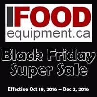 iFoodEquipment Black Friday Super Sale - Restaurant Food Service Equipment