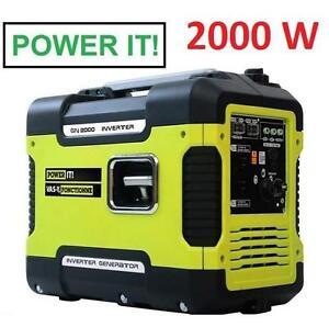 USED POWER IT GENERATOR INVERTER 2000W POWER EQUIPMENT GAS GASOLINE GENERATORS INVERTERS 104518065