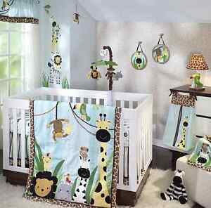 Lambs and Ivy Peek a Boo nursery set
