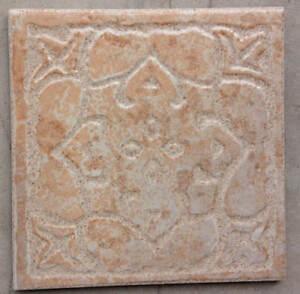 """6""""x6"""" Luxurious Beige Designer Look Ceramic Tiles"""