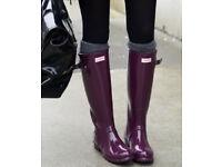 Ladies New Grey Knit Look Knee High Socks.Size 4-8.