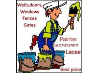 You are looking for painter in walthamstow?
