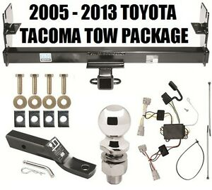 2005 2013 toyota tacoma trailer hitch package complete w. Black Bedroom Furniture Sets. Home Design Ideas