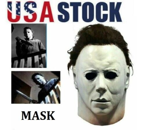 Halloween Michael Myers 1978 face costume,cover,ornament.FREE DELIVERY!USA STOCK