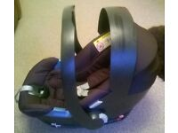 Mamas and Papas Cybex Aton Car Seat / Pushchair Adapters / Car Mirror - Superb Condition