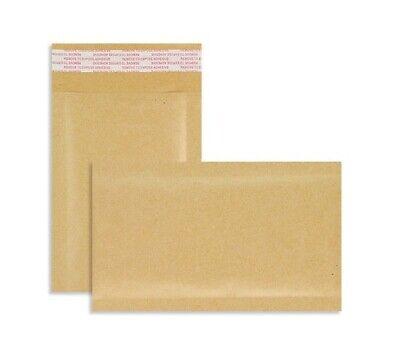 PADDED BUBBLE ENVELOPES EM000  - BAGS  - POSTAL WRAP - GOLD - PK 50