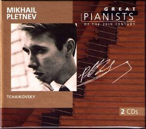 Mikhail-PLETNEV-GREAT-PIANISTS-OF-THE-20TH-CENTURY-2CD-Tchaikovsky-Fedoseyev