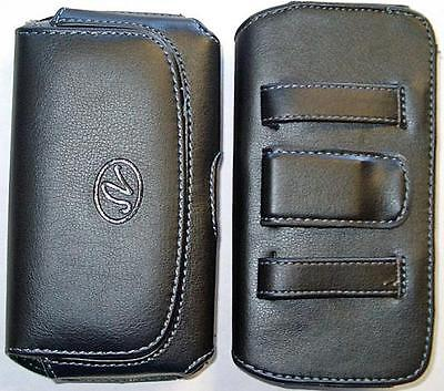 Verizon Motorola Droid Maxx Phone Case / Pouch / Holster With Belt Loop & Clip