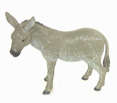 FREE SHIPPING   AAA 97220 Grey Donkey Burro Model Toy Figurine - New in Package