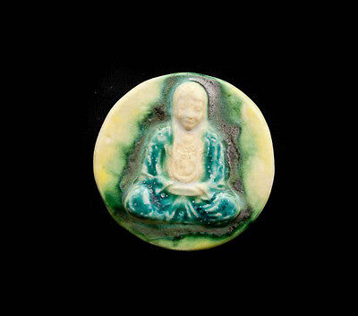 Pendant Of Buddha Position Lotus Ceramic Buddha Creation Craft 8801