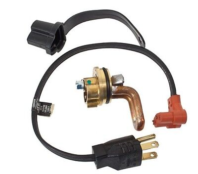 Block Heater Engine Massey Ferguson Mf135 Mf150 Mf230 Mf231 Mf235 Mf240 Mf245