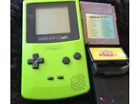 Gameboy color and 34 games