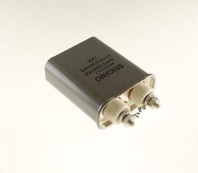 1x .5mfd 2000vdc Hermetically Sealed Oil Capacitor 2000 Volts .5uf 2000v Dc 0.5
