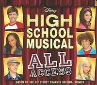 Disney High School Musical All Access (2007 Hardcover) New