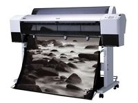 Epson Printer 9880 large format printer