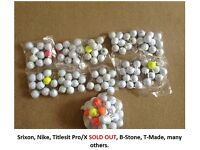 1000's of GOLF BALLS = Full range, Nike,Titleist, Srixon, C-way, B-stone, T-made