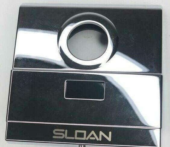 Sloan Optima EL640A Sensor Installation Kit Chrome Wall Plate Cover Finish