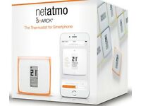 Netatmo smart thermostat, With Amazon echo COLLECTION FROM BOLTON